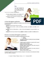 GRAMMATICA ITALIANA Aggettivo Qualificativo