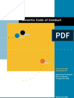 Code of Conduct Novartis