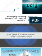 Hemingway's Iceberg Theory or The Theory of Omission