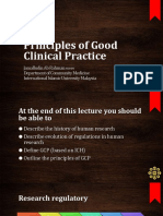 principle of good clinical practice-