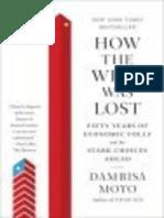 Дамбиза Мойо - Потерянный Запад