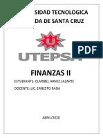finanza II CLARIIII.docx