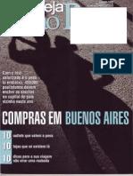 Revista Veja São Paulo  - 17/11/2010 - Compras em Buenos Aires