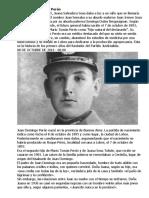 Nace Juan Domingo Perón