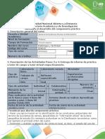 Guía para el desarrollo de Componente práctico - Práctica de campo_