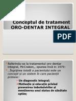 a curs 2 Conceptul de tratament ORO-DENTAR INTEGRAL