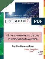 Parte 5 - Dimensionamiento y Prosumidores