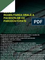 a Curs 8 Reabilitare orala a pacienților cu parodontopatii