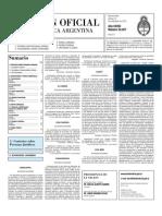 Boletin Oficial 12-11-10 - Segunda Seccion