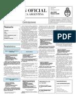 Boletin Oficial 15-11-10 - Tercera Seccion