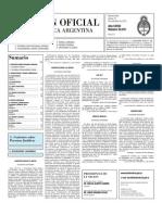 Boletin Oficial 18-11-10 - Segunda Seccion