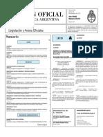 Boletin Oficial 18-11-10 - Primera Seccion
