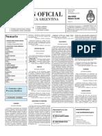 Boletin Oficial 26-11-10 - Segunda Seccion