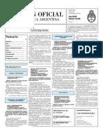 Boletin Oficial 26-11-10 - Tercera Seccion