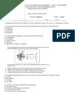ACUMULATIVO CIENCIAS PERIODO 2 CUARTO