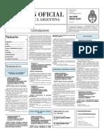 Boletin Oficial 29-11-10 - Tercera Seccion