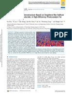 A van der Waals Heterostructure Based on Graphene-like Gallium Nitride and Boron Selenide - A High-Efficiency Photocatalyst for Water Splitting