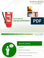 Taller extintores