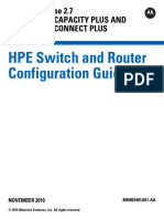 MN003401A01-AA HP Switch and Router General Configuration Guide