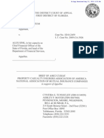 Kortun v. Sink - Amicus Brief by Property Casualty Insurers Assoc. of Am.