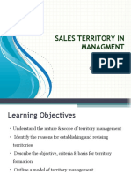 Sales Management - Lecture  10 Sales Territory Management.ppt