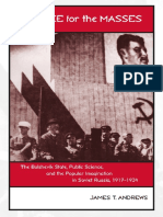 James T. Andrews-Science for the Masses_ The Bolshevik State, Public Science, and the Popular Imagination in Soviet Russia, 1917-1934 (Eastern European Studies Number Twenty-Two) (2003)