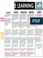 weekly plan for week of 5