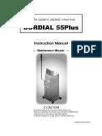 Nipro Surdial 55+ Dialysis Machine - Maintenance manual 1