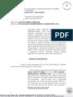 TJRJ rescisao CV imovel com distrato anterior improcedente ipc2