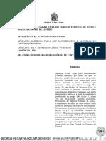 TJRJ Protesto indevido - cancelamento - competência art 100 V a