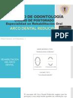 Arco Dental Reducido