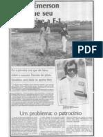 Émerson Fittipaldi pode deixar a Fórmula 1
