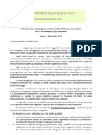 Lettera Appello Ai Comitati 2