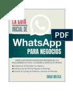 La Guia Inicial De WhatsApp Para Negocios.pdf