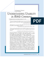 UsabiliityM Commerce