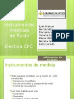 Instrumentos de medida de ruido.pptx