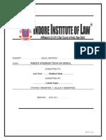 lokesh g legal history.edited