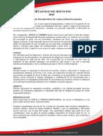 Portafolio de Servicios Para Imprimir