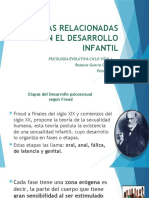 TEORÍAS RELACIONADAS CON EL DESARROLLO INFANTIL