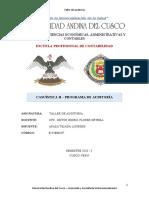 Auditoría casuistica II