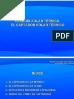 01 El Captador Solar Térmico