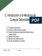 2. Introducción Mecánica Cuerpos Deformables