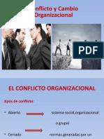 conflicto y cambio org