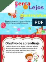 CONCEPTOS DE POSICIÒN DE OBJETOS Y PERSONAS.