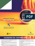 Calendario Fiscal 2011