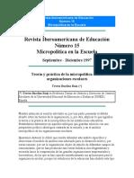 BARDIZA RUIZ Micropolitica OEI