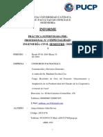 Informe de práctica pre-profesional- Ingeniería Civil