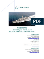 Bilge Water Treatment Systems