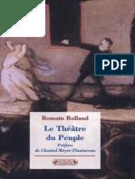 Romain Rolland - Le Theatre Du Peuple