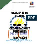 Mof - 2009 Ugel 10 - Huaral